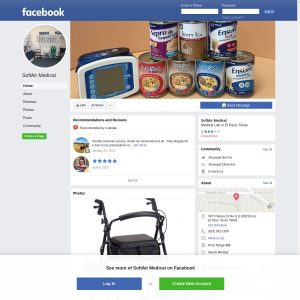 Softair Medical website screenshot