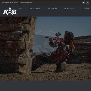 Action Star Games website screenshot