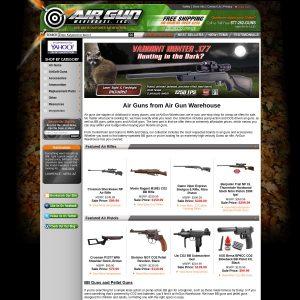 Airgun Warehouse website screenshot