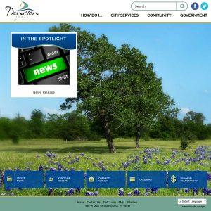 T-Bar Fields website screenshot