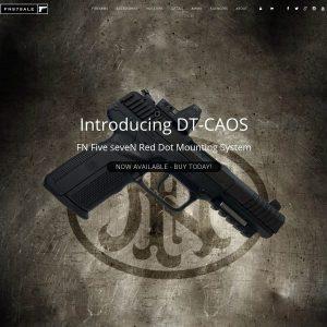Masa Firarms website screenshot