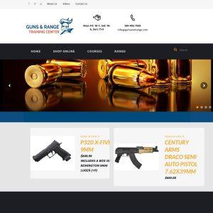 Guns & Range Inc website screenshot
