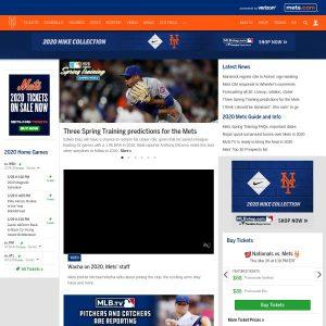 First Data Field website screenshot
