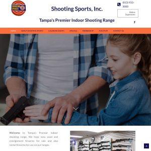 Shooting Sports website screenshot