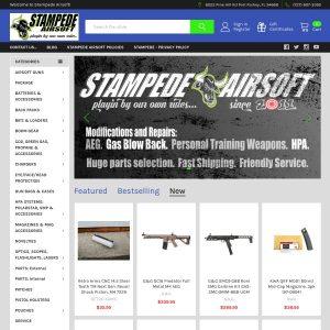 Holy Cowz Airsoft Field website screenshot
