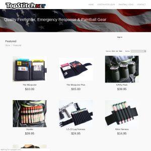 Topstitch website screenshot