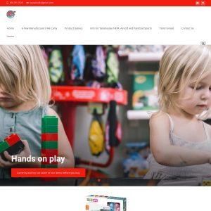 Toy Nation website screenshot