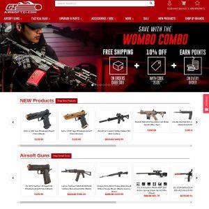 Airsoft GI website screenshot