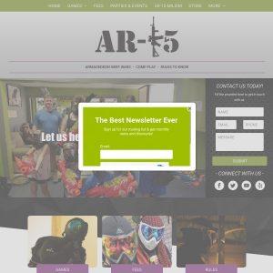 Airsoft Revolution 15 website screenshot