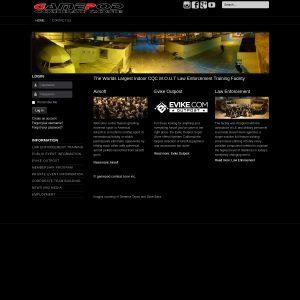 Gamepod Combat Zone Inc website screenshot