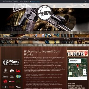 Howell Gun Works website screenshot