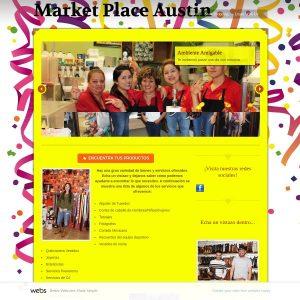 Market Place Austin website screenshot