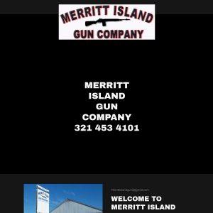Merritt Island Gun Company website screenshot