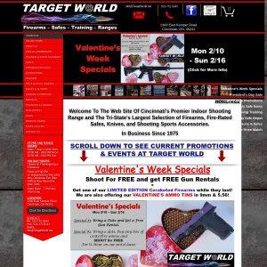 Target World website screenshot