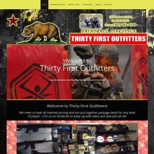 Thirty First Outfitters website screenshot
