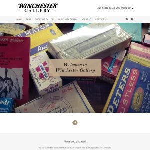 Shooting Gallery website screenshot