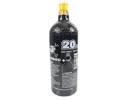 Maddog 20 oz Refillable Aluminum CO2 Tank